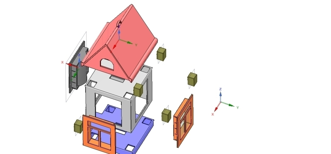 development game type and build your house 3d 3D Print 252511