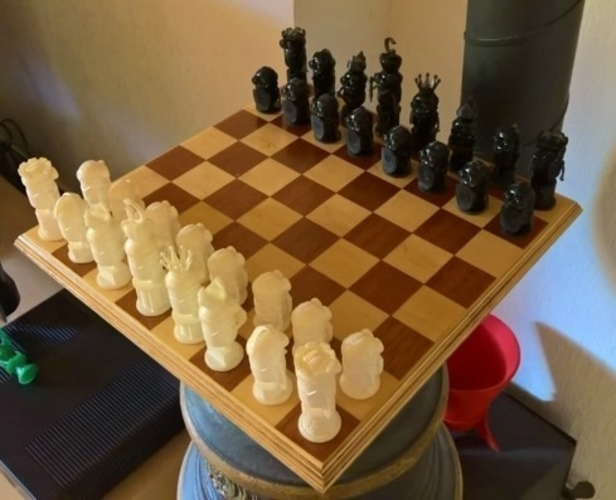 Minion Chess 3D Print 252737