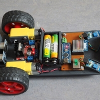 Small Car Frame 2 (Robot car experimenting) 3D Printing 252814