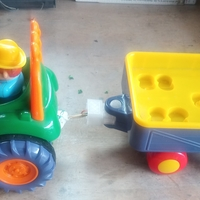 Small Toy tractor repaired 3D Printing 253176