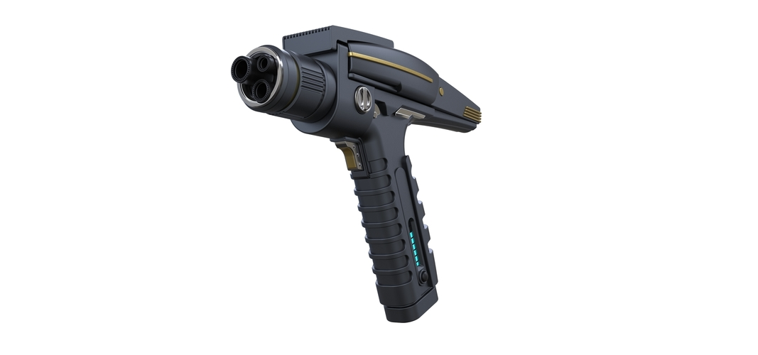 Accurate replica of Phaser pistol 2 from Star Trek Discovery 3D Print 253278