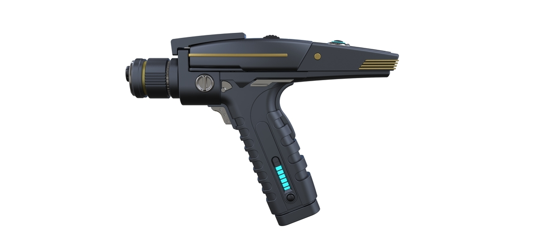 Accurate replica of Phaser pistol 2 from Star Trek Discovery 3D Print 253281