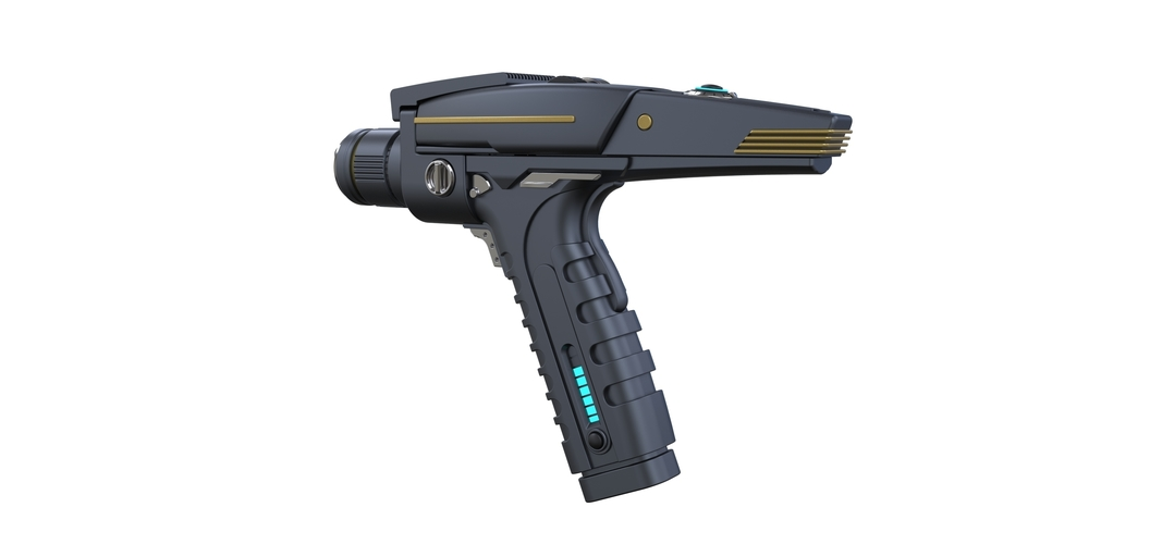 Accurate replica of Phaser pistol 2 from Star Trek Discovery 3D Print 253288