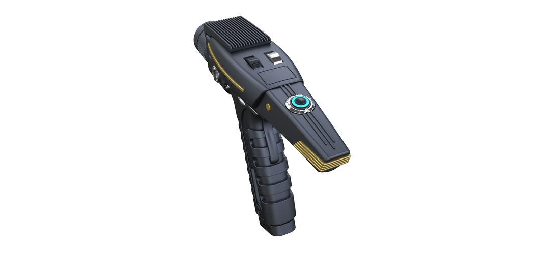 Accurate replica of Phaser pistol 2 from Star Trek Discovery 3D Print 253290