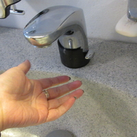 Small Automatic water faucet cover 3D Printing 253484