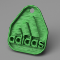 Small Adidas keychain 3D Printing 253740