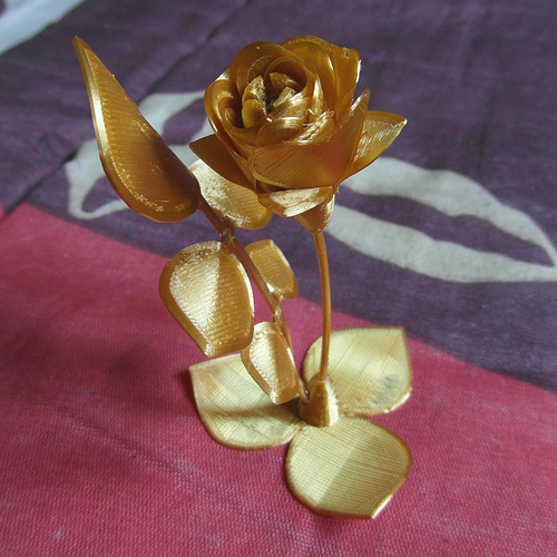 My synthetic Flower 3D Print 253861
