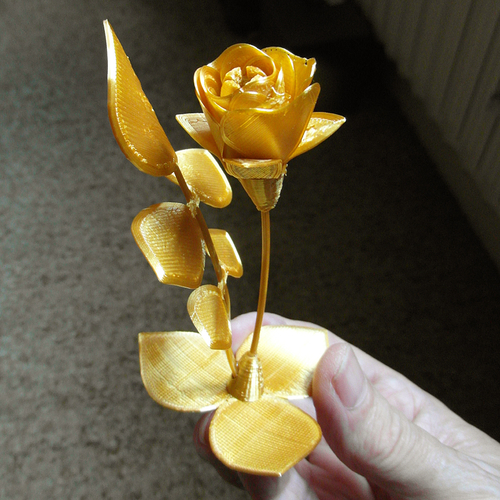 My synthetic Flower 3D Print 253862