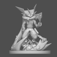 Small Pokemon Greninja Kakashi 3D Printable Figure 3D Printing 254055