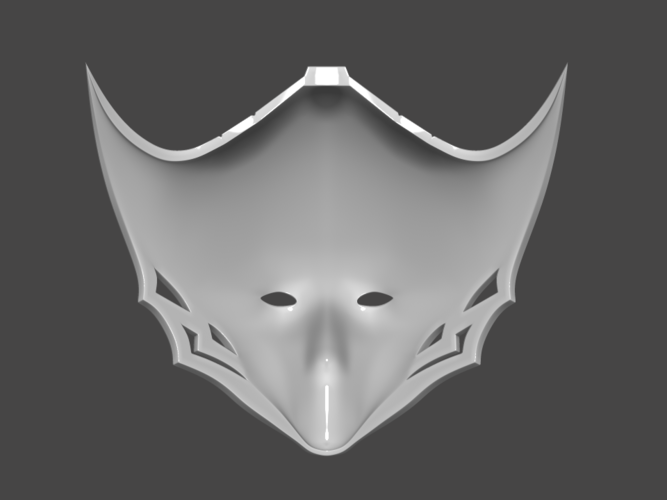 Princess Kushana Mask Cosplay 3D print model 3D Print 254061