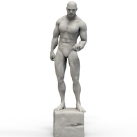Small The Man Sculpture 3D Printing 254421