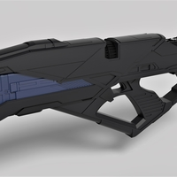 Small Vengeance Rifle from the movie Star Trek Into Darkness 2013 3D Printing 254422