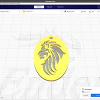 Small Lion keychain 3D Printing 254470