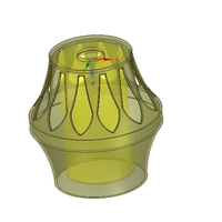 Small Lights Lampshade for real 3D printing  3D Printing 254508