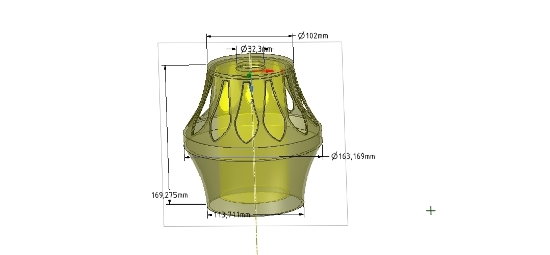 Lights Lampshade for real 3D printing  3D Print 254514