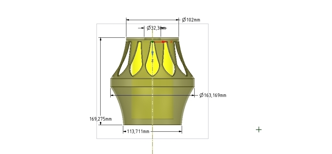 Lights Lampshade for real 3D printing  3D Print 254518