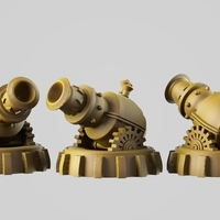 Small The Cannon 3D Printing 254531