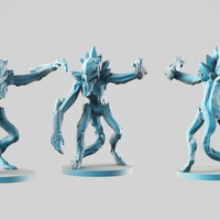 Small Ice's elemental demon 3D Printing 254554