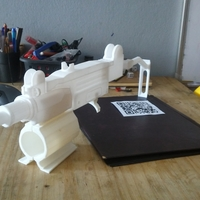 Small uzi for Ps4 VR aim controller  3D Printing 254560