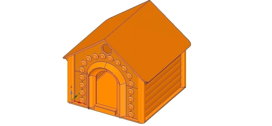 doghouse cathouse housekeeper for real 3D printing  3D Print 254641