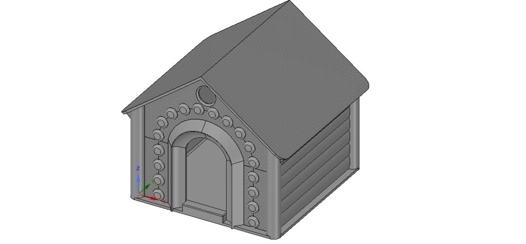 doghouse cathouse housekeeper for real 3D printing  3D Print 254642
