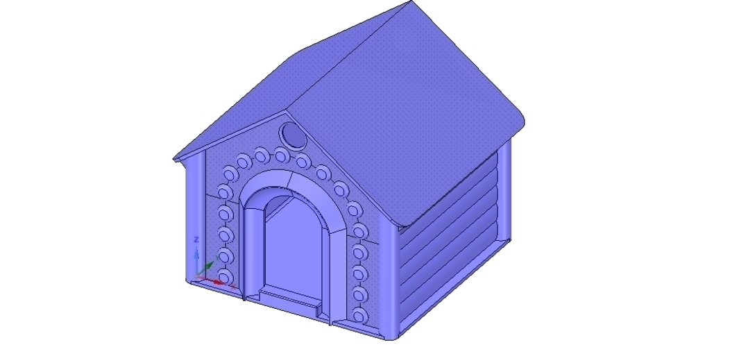 doghouse cathouse housekeeper for real 3D printing  3D Print 254643