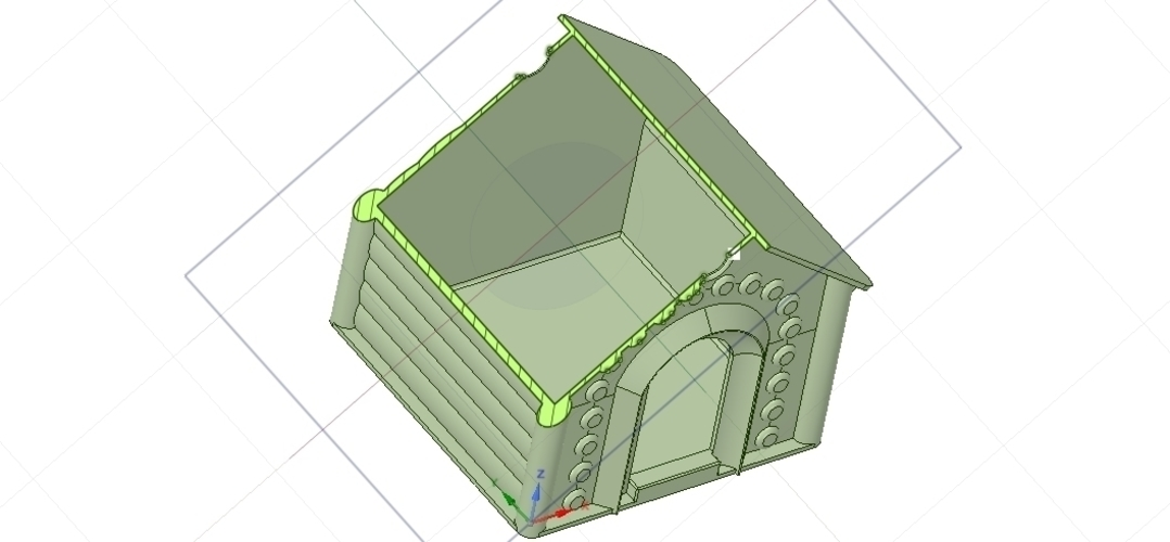 doghouse cathouse housekeeper for real 3D printing  3D Print 254652