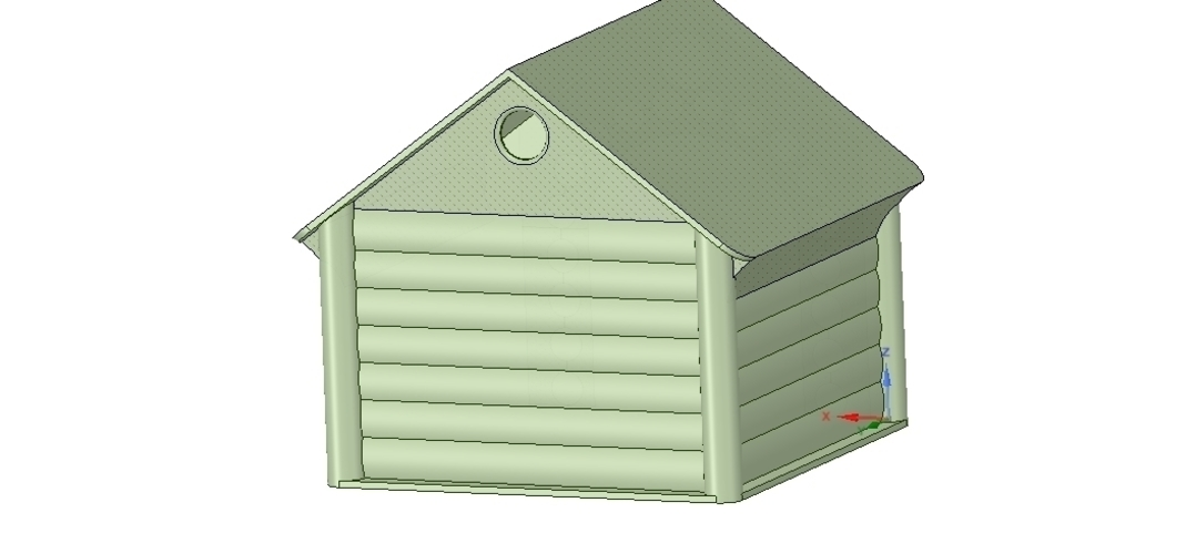 doghouse cathouse housekeeper for real 3D printing  3D Print 254654