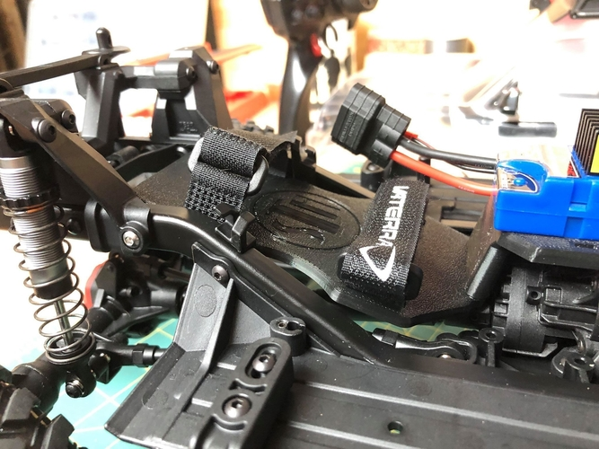 TRX4 Sport Interior w/Inline LCG Battery and Electrics 3D Print 254704