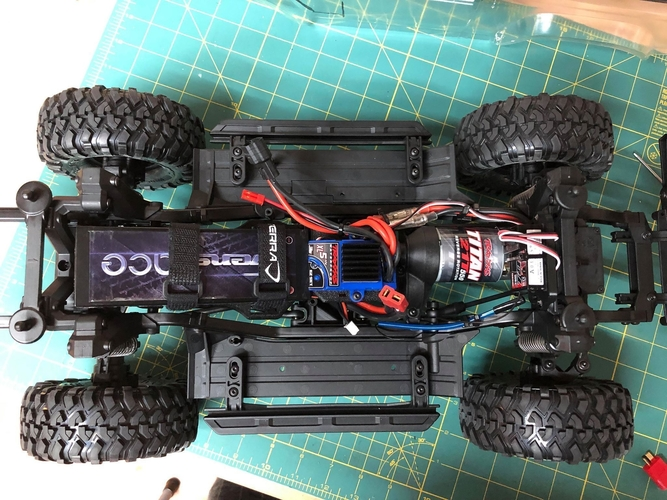 TRX4 Sport Interior w/Inline LCG Battery and Electrics 3D Print 254709
