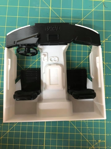 TRX4 Sport Interior w/Inline LCG Battery and Electrics 3D Print 254714