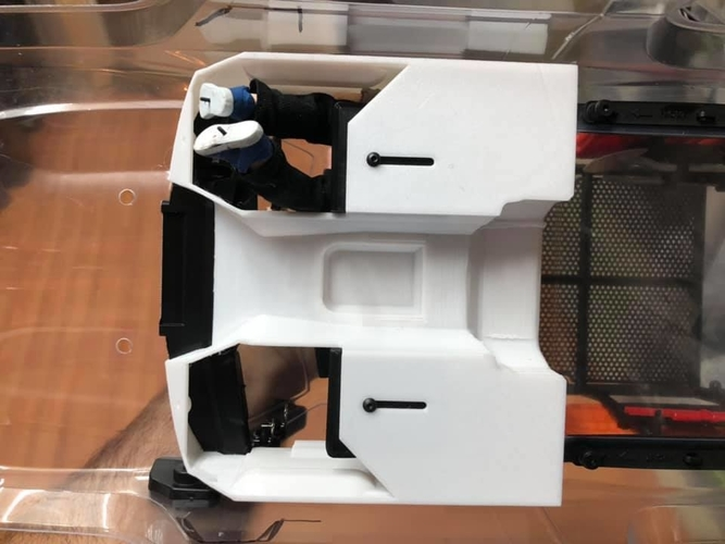 TRX4 Sport Interior w/Inline LCG Battery and Electrics 3D Print 254717