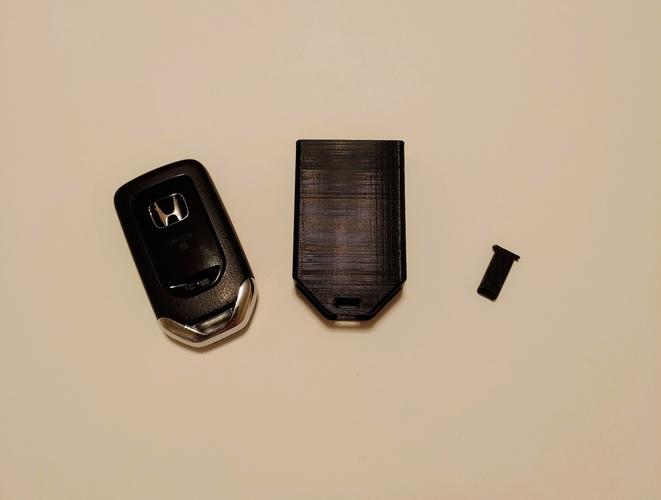 Honda Key Fob Cover (prevents unwanted button presses!) 3D Print 254800
