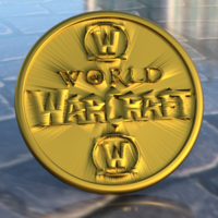 Small World of Warcraft coaster 3D Printing 254893