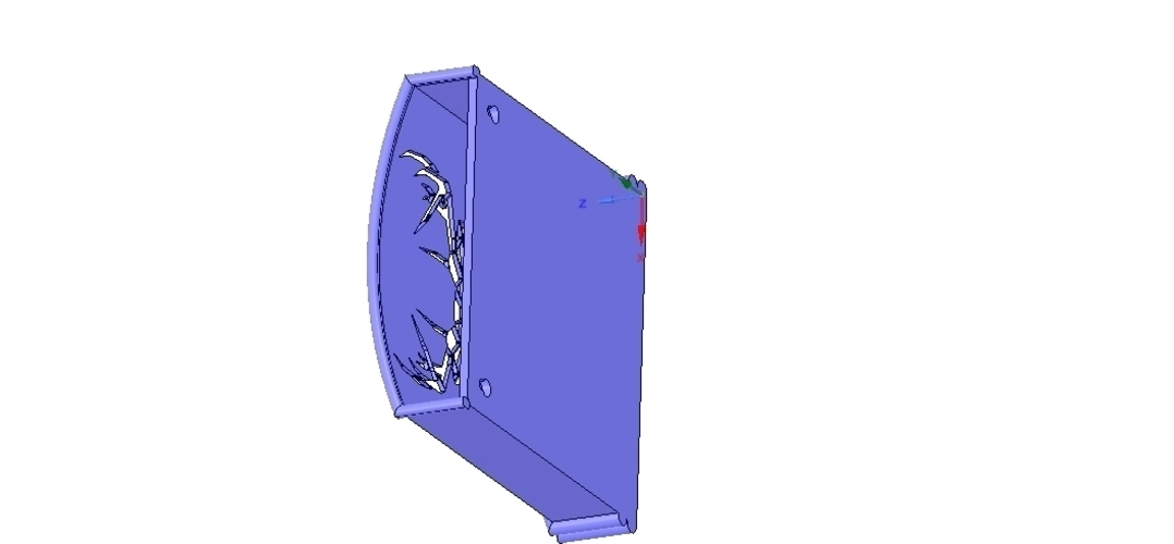 Umbrella wall mount Holder  for real 3D printing and cnc  3D Print 255028