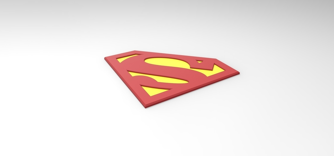 graphic regarding Printable Superman Logo referred to as 3D printable Superman brand for cosplay dress