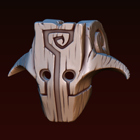 Small Juggernaut mask 3D Printing 255133