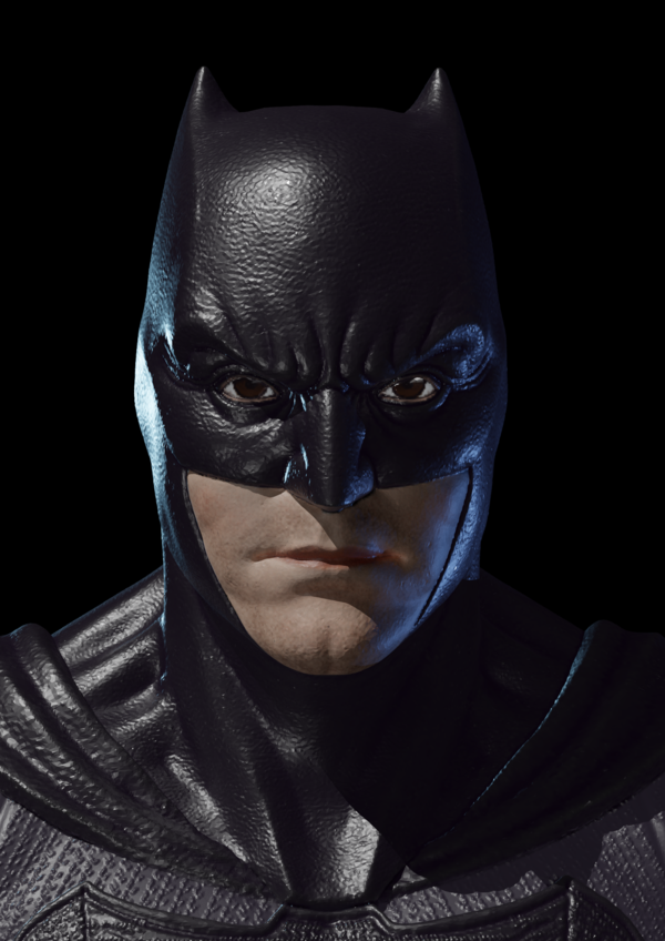 Medium Batman Bust 3D Printing 255402
