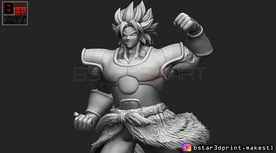 Broly version 02 from Broly movie 2019 3D Print 255441