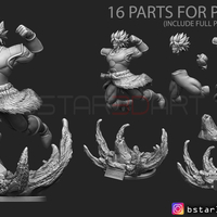Small Broly version 02 from Broly movie 2019 3D Printing 255444