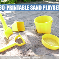 Small 3D-printable sand play set 3D Printing 25545