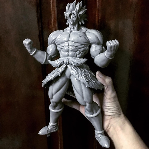 Broly version 01 from Broly movie 2019 3D Print 255451