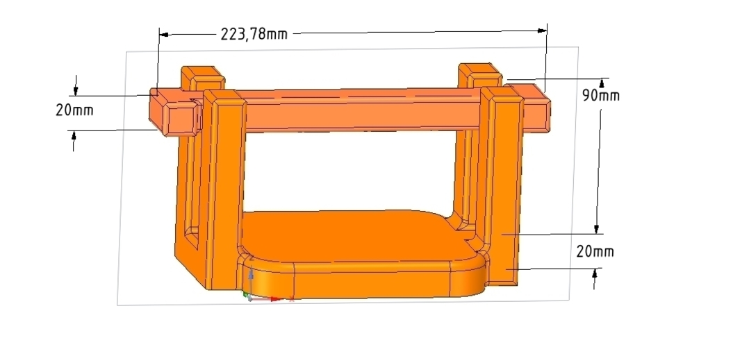 kitchen table napkin holder for outside garden real 3D printing  3D Print 255497