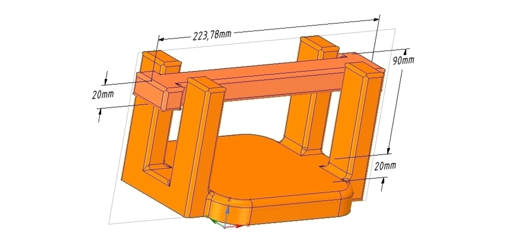 kitchen table napkin holder for outside garden real 3D printing  3D Print 255498