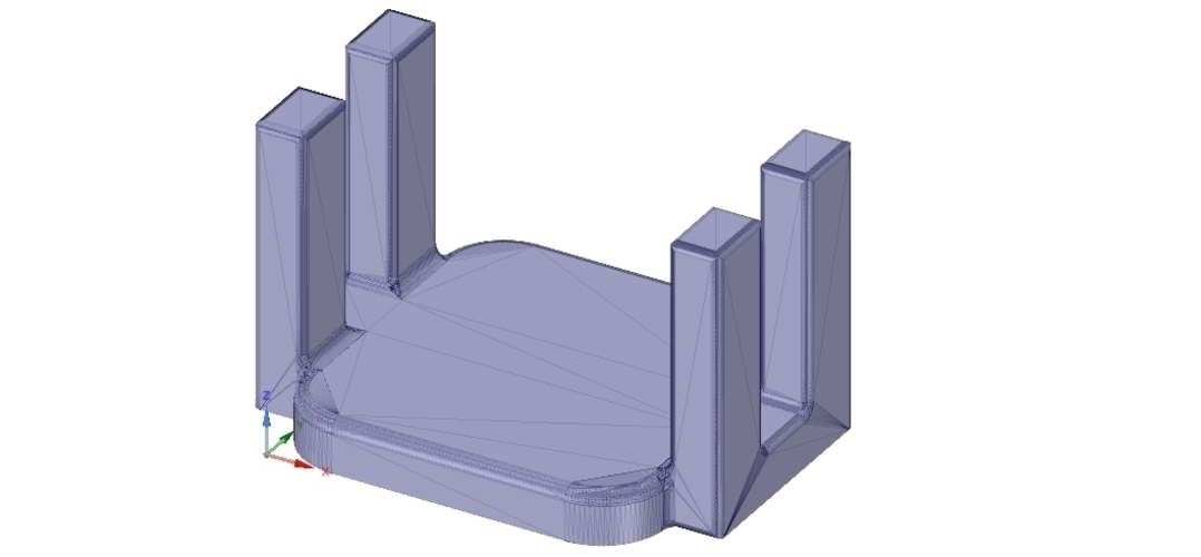 kitchen table napkin holder for outside garden real 3D printing  3D Print 255499