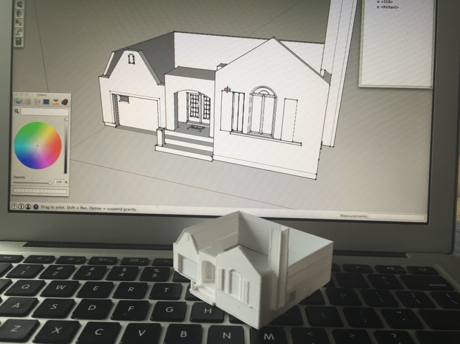 Dad's House 3D Print 25554
