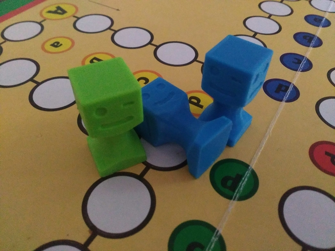 Figurine on a board game 3D Print 255547