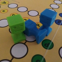 Small Figurine on a board game 3D Printing 255547