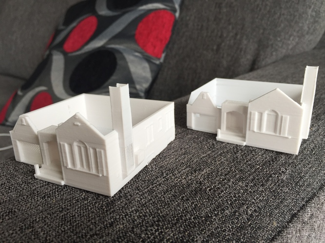 Dad's House 3D Print 25555
