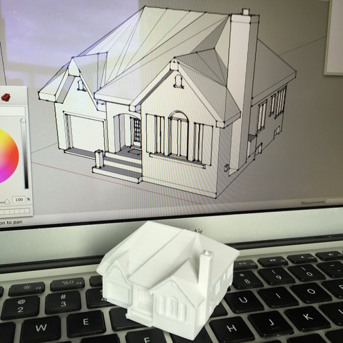 Dad's House 3D Print 25556